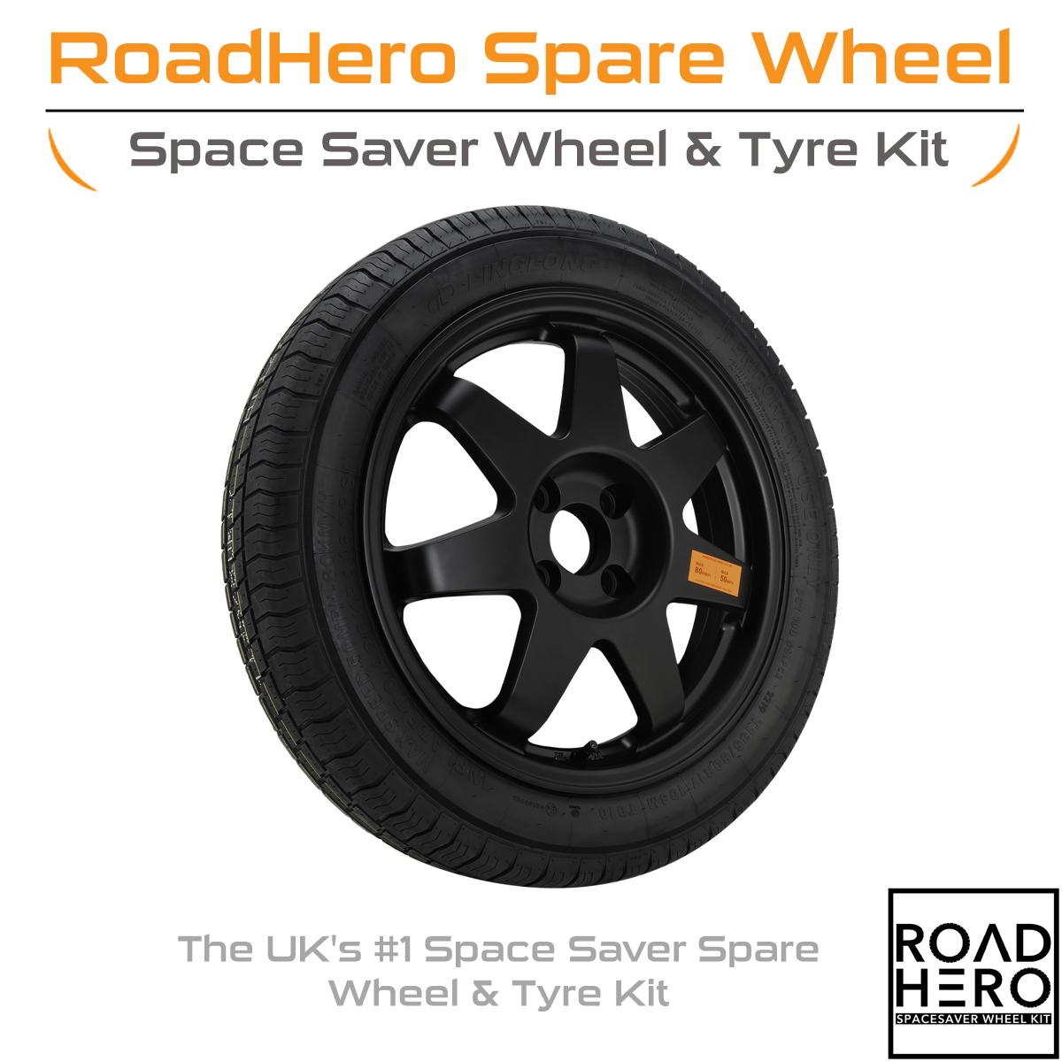 Roadhero-rh085-Space-Saver-Ersatzrad-und-Reifen-fuer-Mercedes-GLA-Klasse-x156-14-19