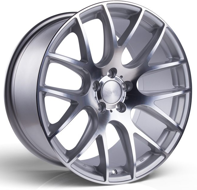 "Alloy Wheels 18"" 3SDM 0.01 Silver Polished Face For Alfa"