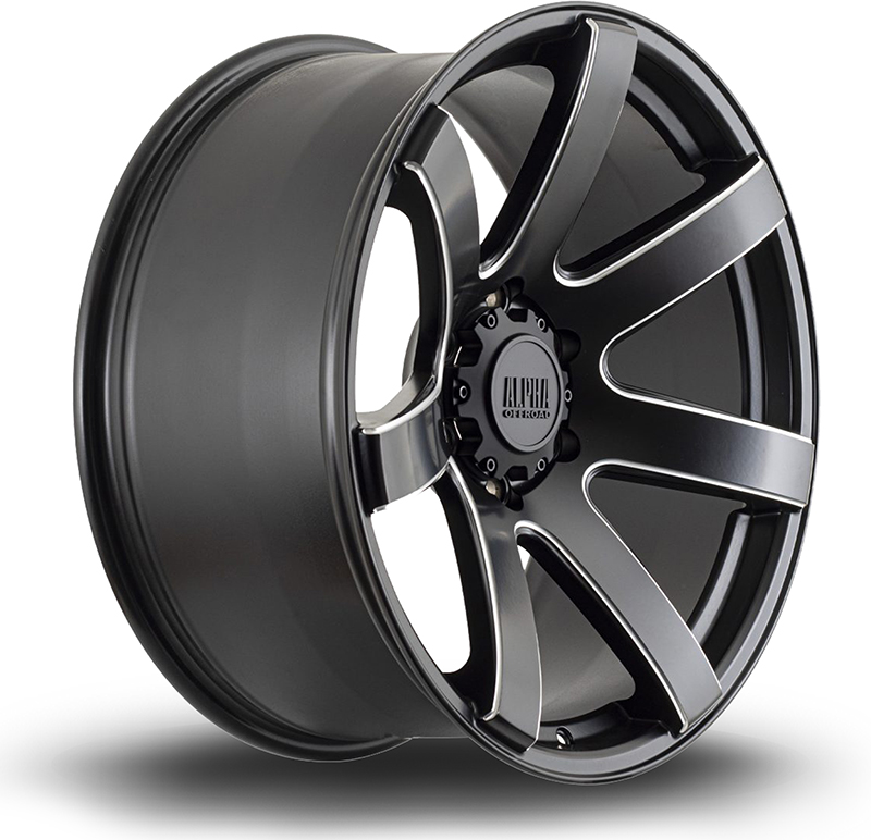 Alpha Offroad Gauntlet Alloy Wheels
