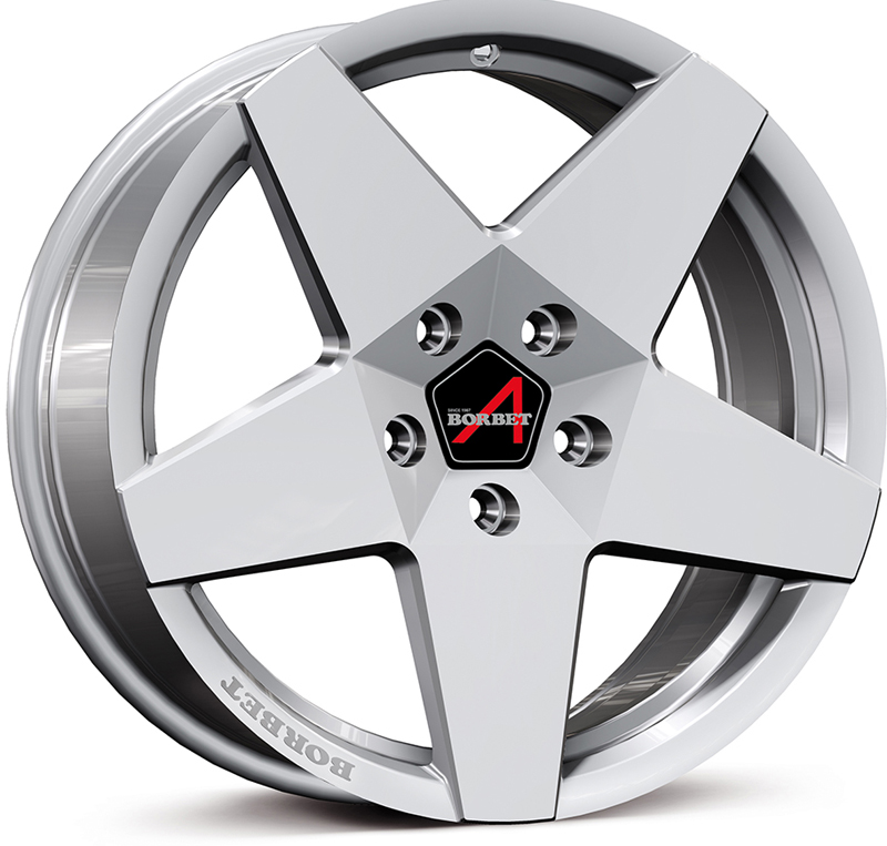 Borbet A New Brillant Silver Alloy Wheels Alloywheels Com