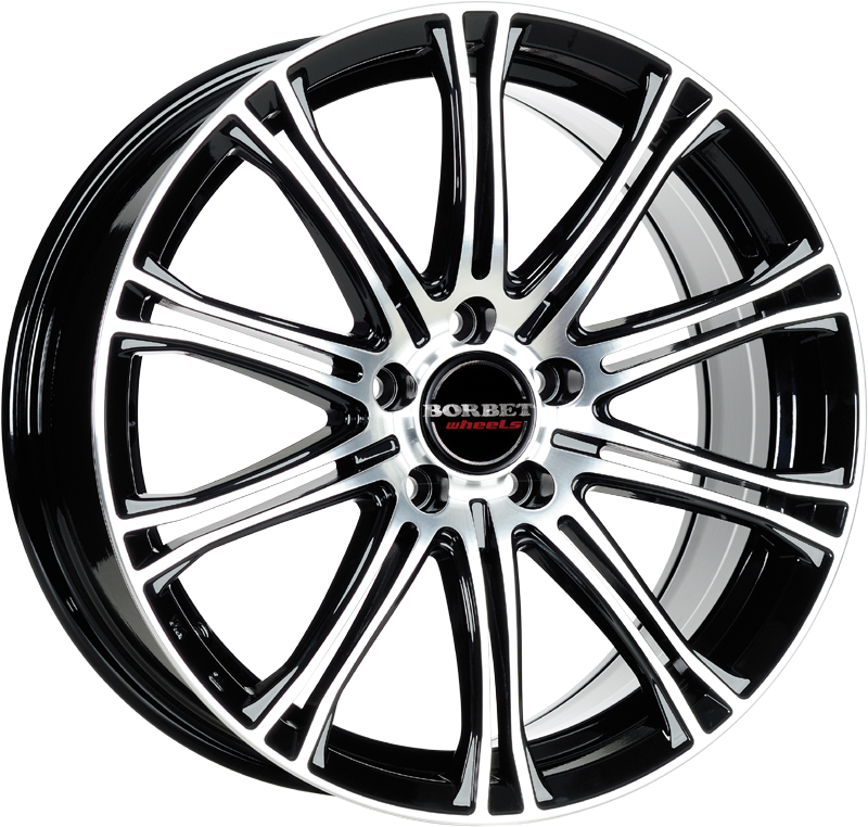 Borbet CW1 Alloy Wheels