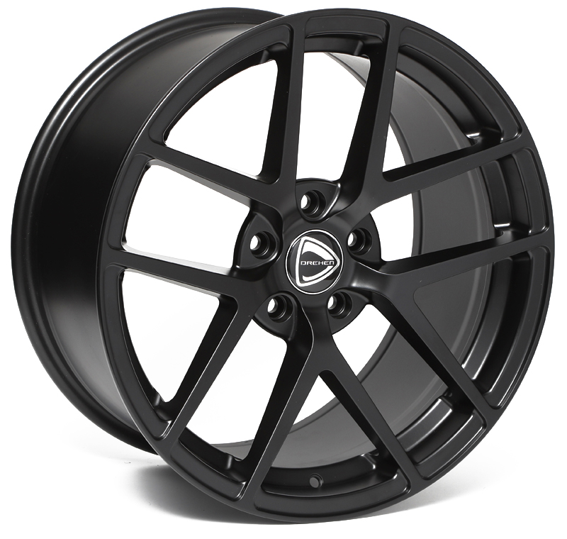 drehen dh-a matt black wheel