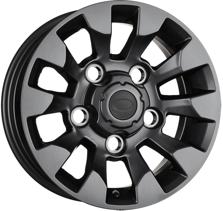 Wolfrace Eurosport Sawtooth Alloy Wheels
