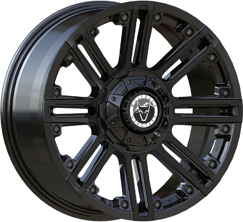 Wolfrace Explorer Amazon Alloy Wheels
