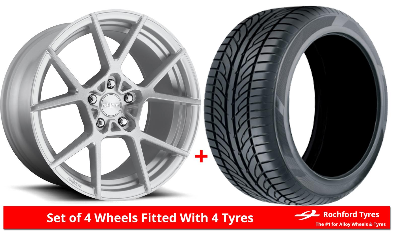 Alloy Wheels Tyres 18 Rotiform Kps For Mini Clubman F54 15 18